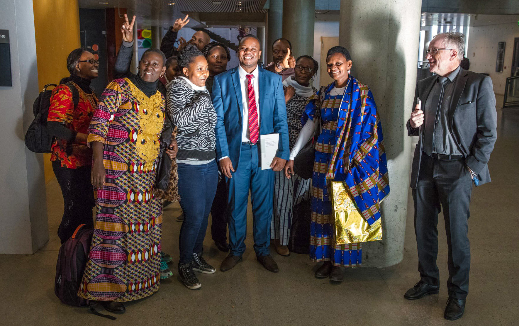 Wilfred Njama Marealle defended his PhD dissertation successfully at NTNU