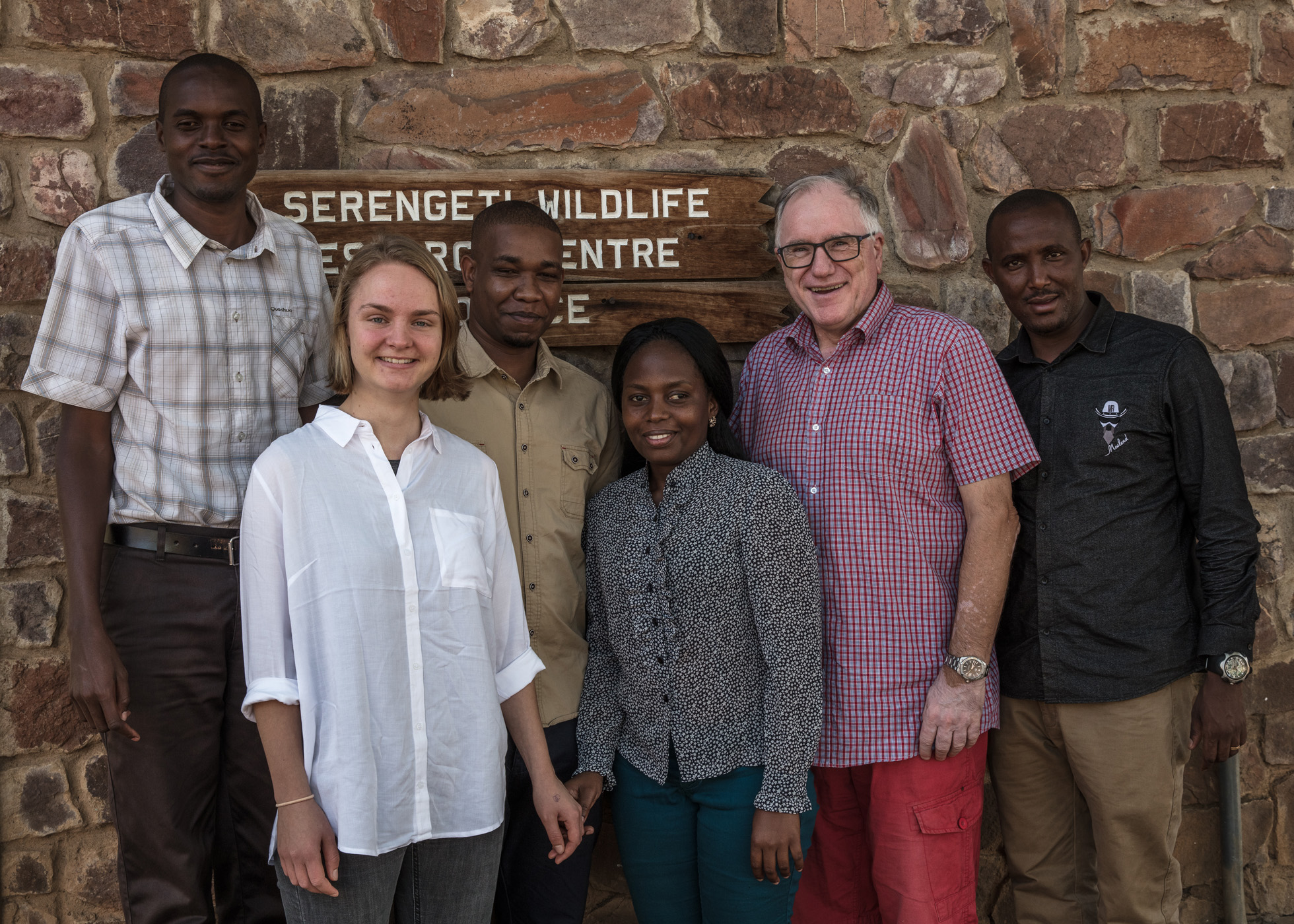 Before going to the different districts, I met with the community facilitators for a couple of days to plan everything about the program. From the left is Jeremia (CF in Serengeti), me, David (CF in Bariadi), Rose (CF in Meatu), Eivin and Elibariki (CF in Ngorongoro. Photo: Per Harald Olsen/AfricanBioServices